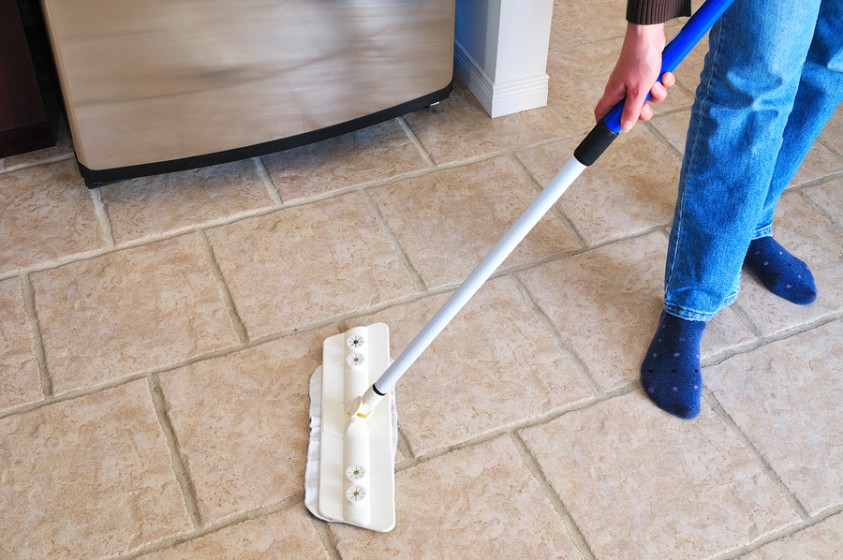 How To Clean And Polish Porcelain And Ceramic Tiles Home